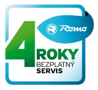 Logo akce 4 roky bezplatný servis Brandt
