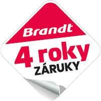 Logo 4 roky záruky Brandt